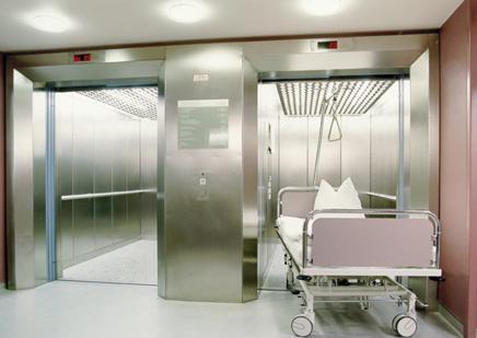 Thang máy bệnh viện Italia 2